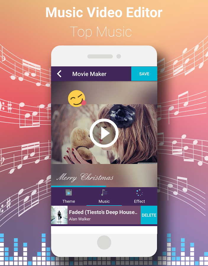 Video editor with music android apps on google play for Website layout maker