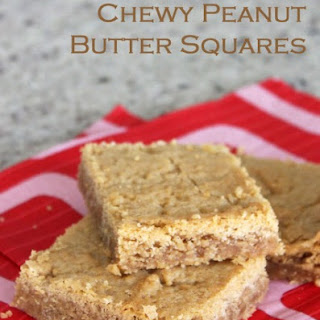 Chewy Peanut Butter Squares