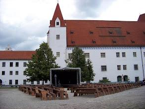 Photo: der Innenhof des Neuen Schlosses