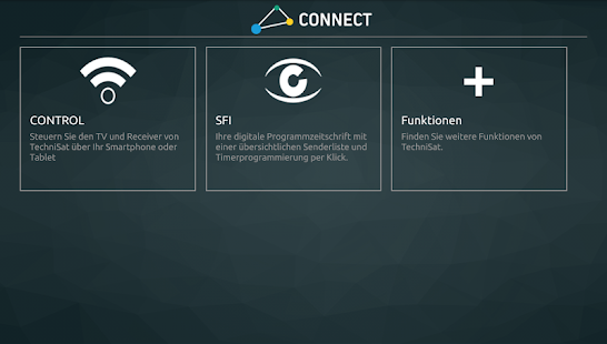TechniSat CONNECT – Miniaturansicht des Screenshots