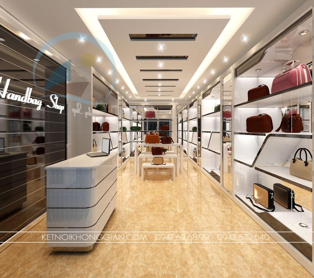 thiết kế shop túi xách 3