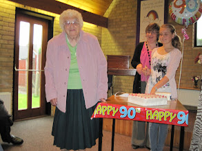 Photo: Connie is 90.