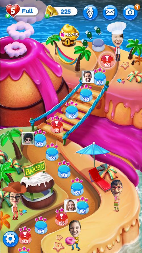 Screenshot 3 Crazy Cake Swap: Matching Game 1.65 APK MOD