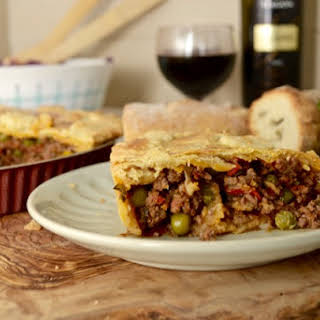 Savory and Spicy Mincemeat Pie.