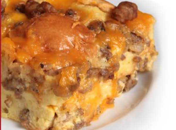 Sausage Egg Bake 2 Just A Pinch Recipes