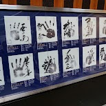 hand sizes of the sumo wrestlers in Tokyo, Tokyo, Japan