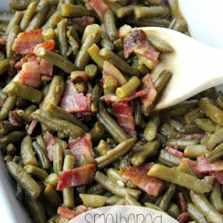 Smothered Bacon Green Bean Casserole Recipe