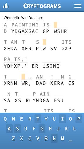 Cryptogram Puzzles apkpoly screenshots 1