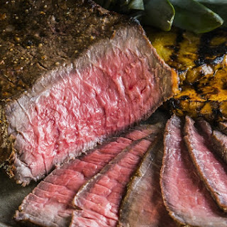Asian Marinated London Broil & Giveaway