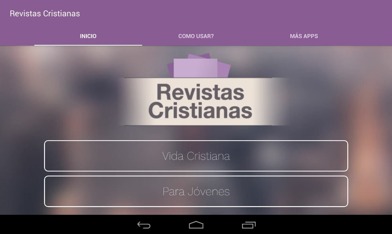 Revistas Cristianas- screenshot