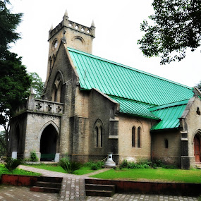 Church by Satminder Jaggi - Buildings & Architecture Places of Worship ( church, india, hill station, kasauli )