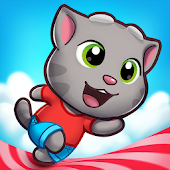 Talking Tom Candy Run Android APK Download Free By Outfit7 Limited