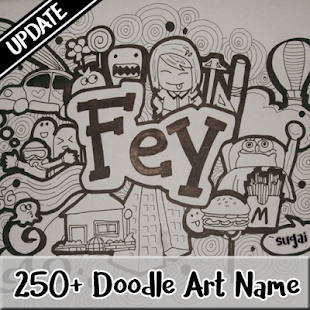Doodle art name update android apps on google play for How to doodle names