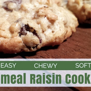 Oatmeal Raisin Cookies No Baking Soda Recipes.