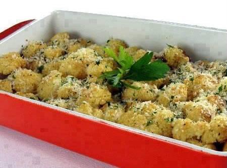 Oven Roasted Cauliflower Recipe