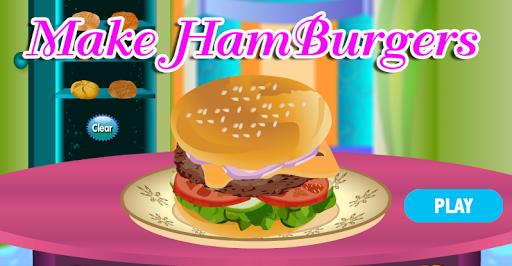 เกมส์ทำอาหาร: แฮมเบอร์เกอร์