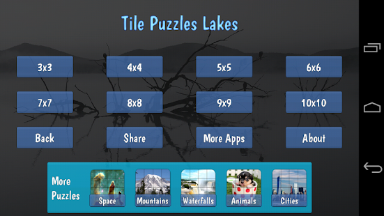 Tile Puzzles · Lakes- screenshot thumbnail
