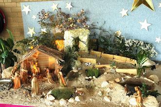 Photo: The three kings visit Bethlehem to see Jesus