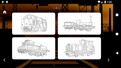 Trains Game Coloring Book 1.7 screenshots 12