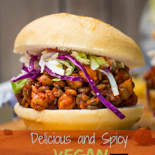 Delicious and Spicy Vegan Sloppy Joes