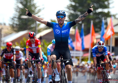 Giacomo Nizzolo wint de vijfde etappe in de Tour Down Under
