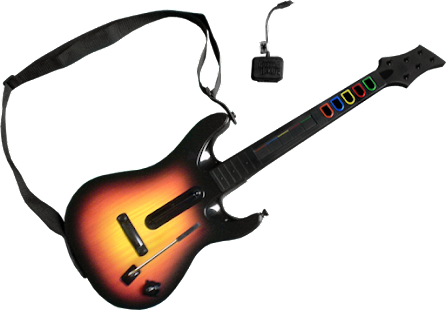 Play Guitar Hero World Tour With Controller