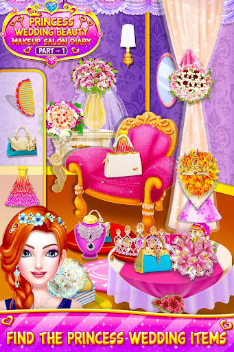 Princess Wedding Magic Makeup Salon Diary Part 1 screenshot 3