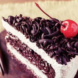 Low-Fat Black Forest Cake Recipe
