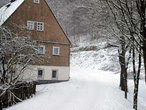 Photo: Neunzehnhain bei Wünschendorf imErzgebirge  - Auch dieses Gebäude wurde 2006 inzwischen abgerissen
