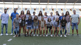 Las nuevas integrantes del Almería Femenino.