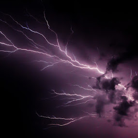 Extreme Voltage by Scott Turnmeyer - Landscapes Weather ( lightning, bolt, storm )