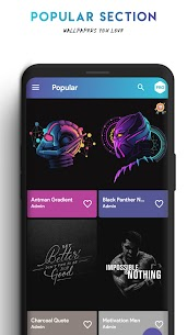AmoledPix – 4K Amoled & Black Wallpapers (MOD, Pro) v2.4 4
