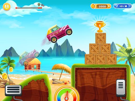 Kids Car Hill Racing: Games For Boys screenshots 4