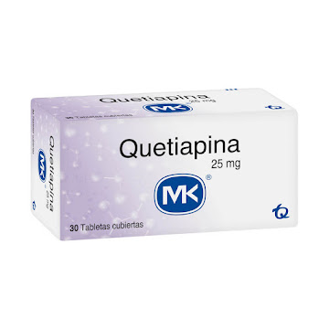 Quetiapina MK 25mg   Tableta Caja x30Tab.