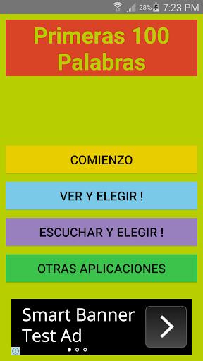 Primeras 100 Palabras Español