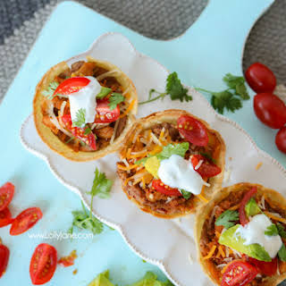 Easy Taco Cups.