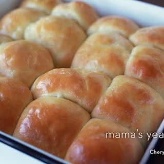 Homemade Yeast Rolls.