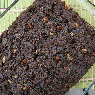 Zucchini Walnut Brownies