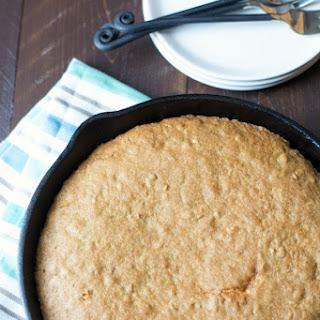 Gluten Free Oatmeal Skillet Cookie