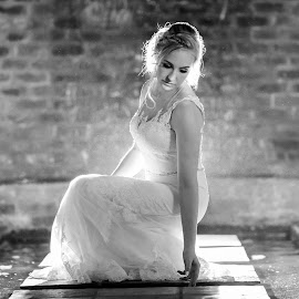 Dreamy by Junita Fourie-Stroh - Wedding Bride ( water, wedding photography, dreamy, night photography, wedding day, wedding, wedding dress, wedding photographer, bride, destination wedding photographers )