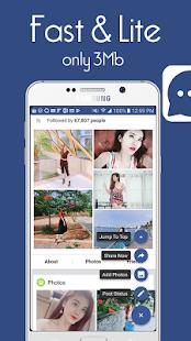 Social Messenger - Faster messenger - náhled