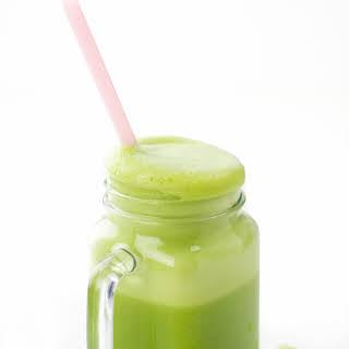 2 Ingredient Green Smoothie.