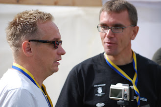 Photo: Focus from media. Per Olsson. Crew on the right. Photo: Patric Fransson