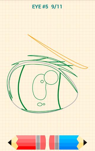 How to Draw Anime Eyes 5.1 Screenshots 5