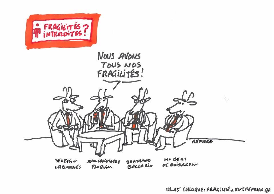 Fragilités & entreprise par Renard