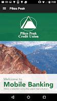 Screenshot of Pikes Peak Credit Union Mobile
