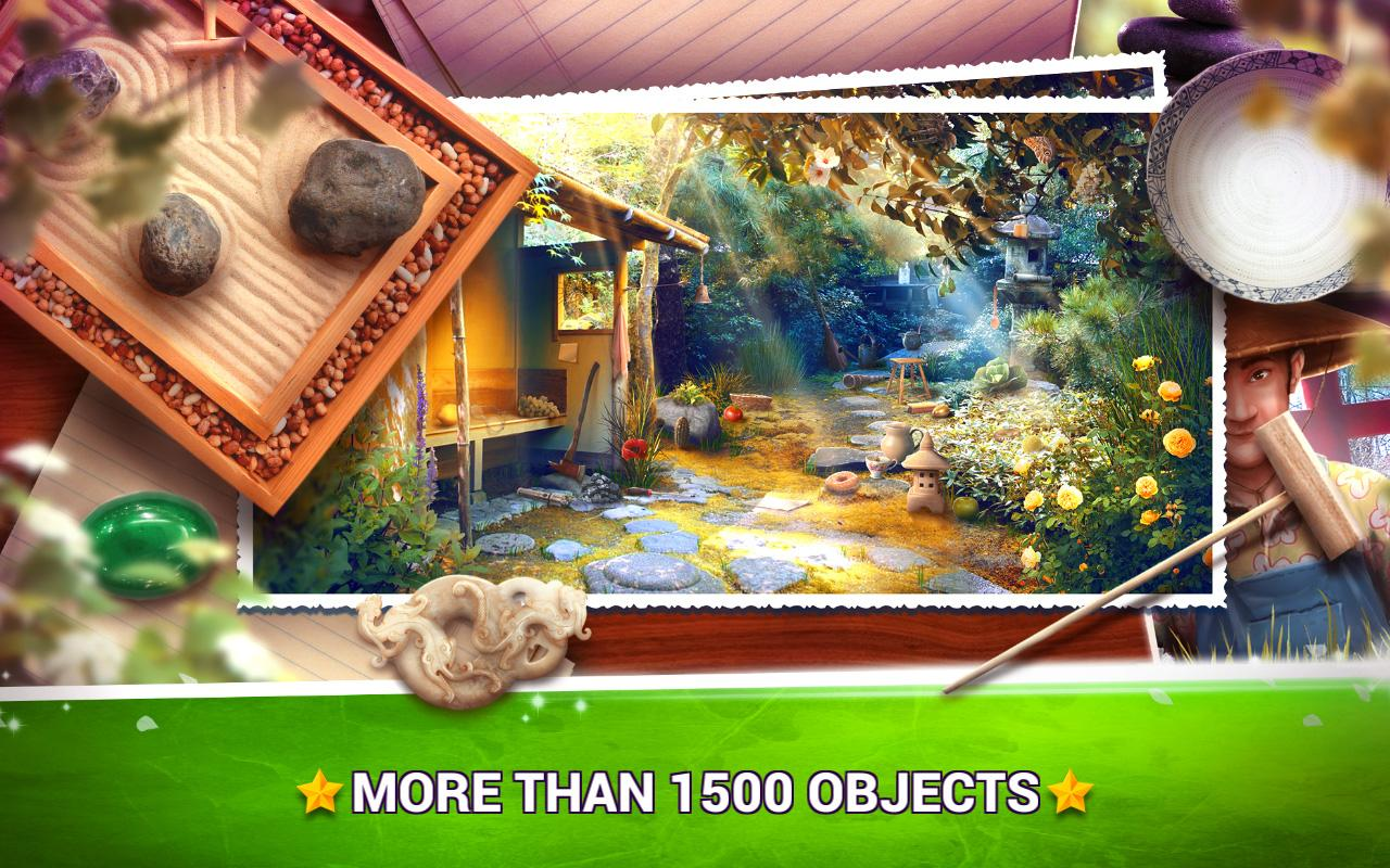 mystery objects zen garden – searching games  android apps on  - mystery objects zen garden – searching games screenshot