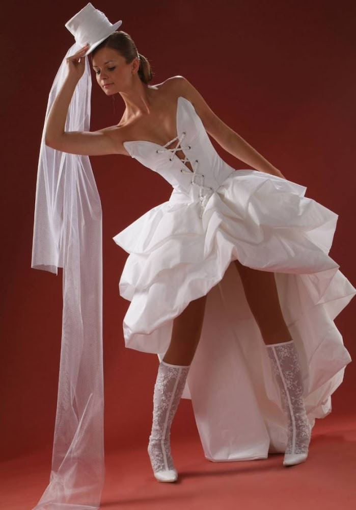купить уже креативное свадебное платье фото являются владельцами розничной