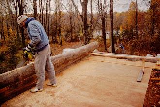 Photo: Dan cutting groove.