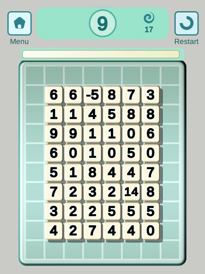 Tens Maths IQ Challenge- screenshot